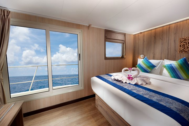 Dive Gaia - Gaia Love- Luxury Upper Deck Cabins