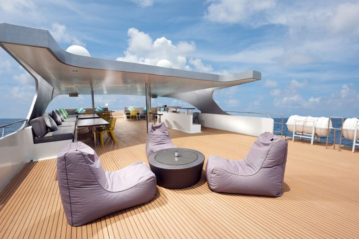 Dive Gaia - Gaia Love- Luxury Liveaboard Top Deck