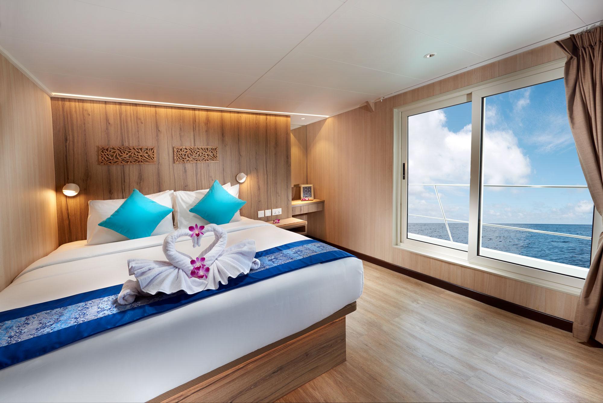 Dive Gaia - Gaia Love- Luxury Upper Deck Cabins