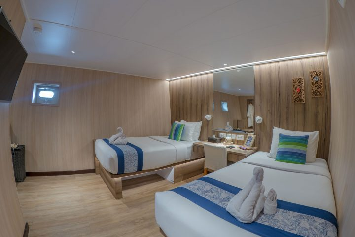 Dive Gaia - Gaia Love- Luxury Lower Deck Cabins