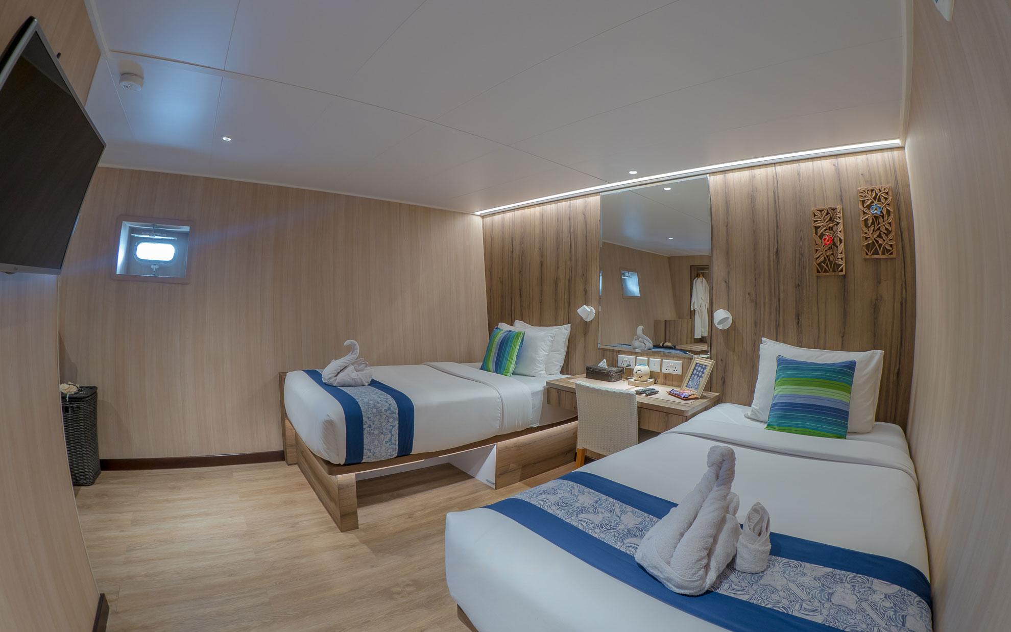 Dive Gaia - Gaia Love- Luxury Lower Deck Cabins